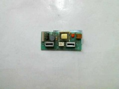 MSI MS-1722B BUTTON BOARD WITH USB & RJ45 PORTS USED