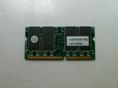 CLONE MSP643S-462 Memory  used