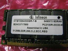 INFINEON-HYS72D64500GR-7-B
