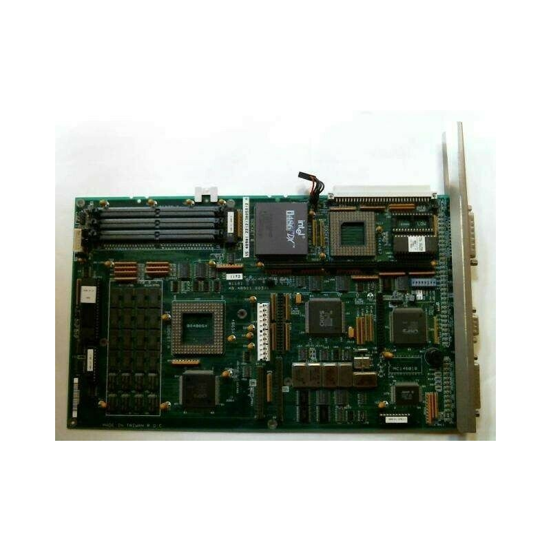INTEL 681534-307 SLOT 1 SYSTEM BOARD (2 X ISA / 4 X PCI SLOT) USED
