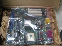 AST 202390-004 PCBA MBD EX286/386SX REVID USED