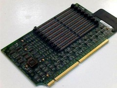 DELL F1810 NVIDIA GEFORCE FX 5200 128MB AGP DVI VIDEO CARD USED