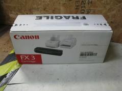CANON 1557A003  FX3 BLACK...