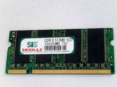 SIS SSX264M8-T5C Memory  used